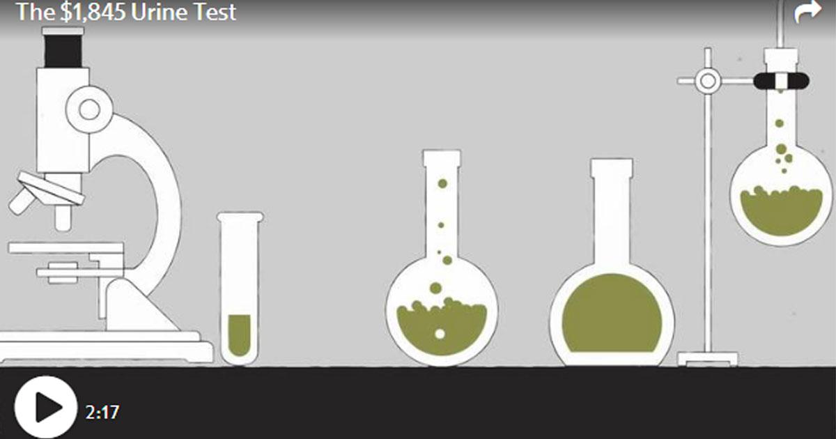 The $1,845 Urine Test